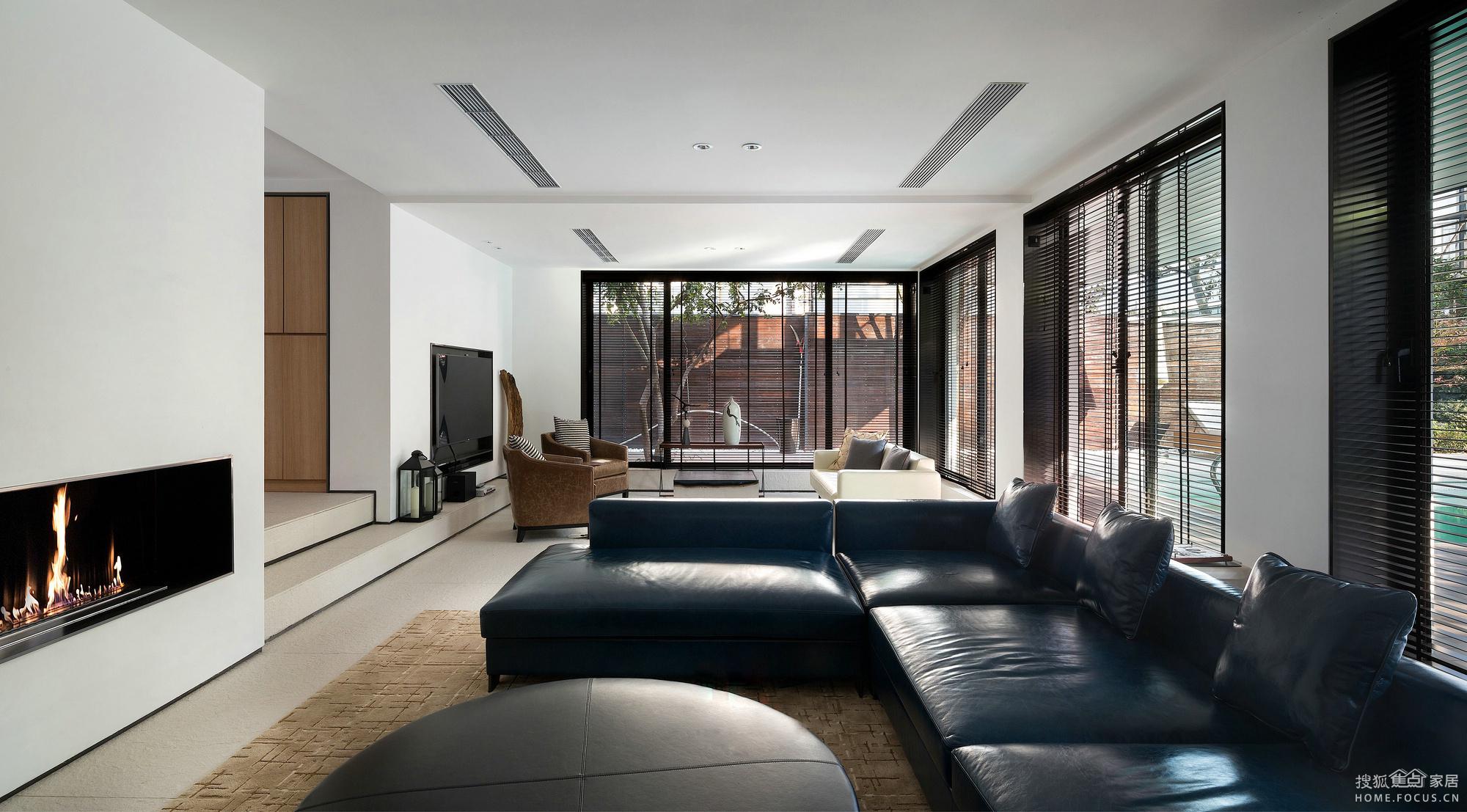 中航城208平别墅,简约风沙发注重小区搭配v别墅老婆同一联排别墅大平层图片