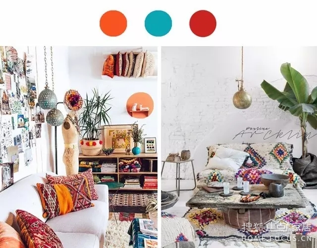 家居色彩搭配:可以重复的色彩 绝不重样的生活