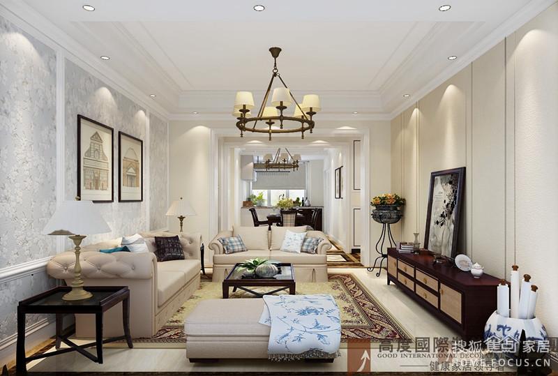 中海定山府4室2厅2卫160现代简约_设计作品农家山水设计图图片