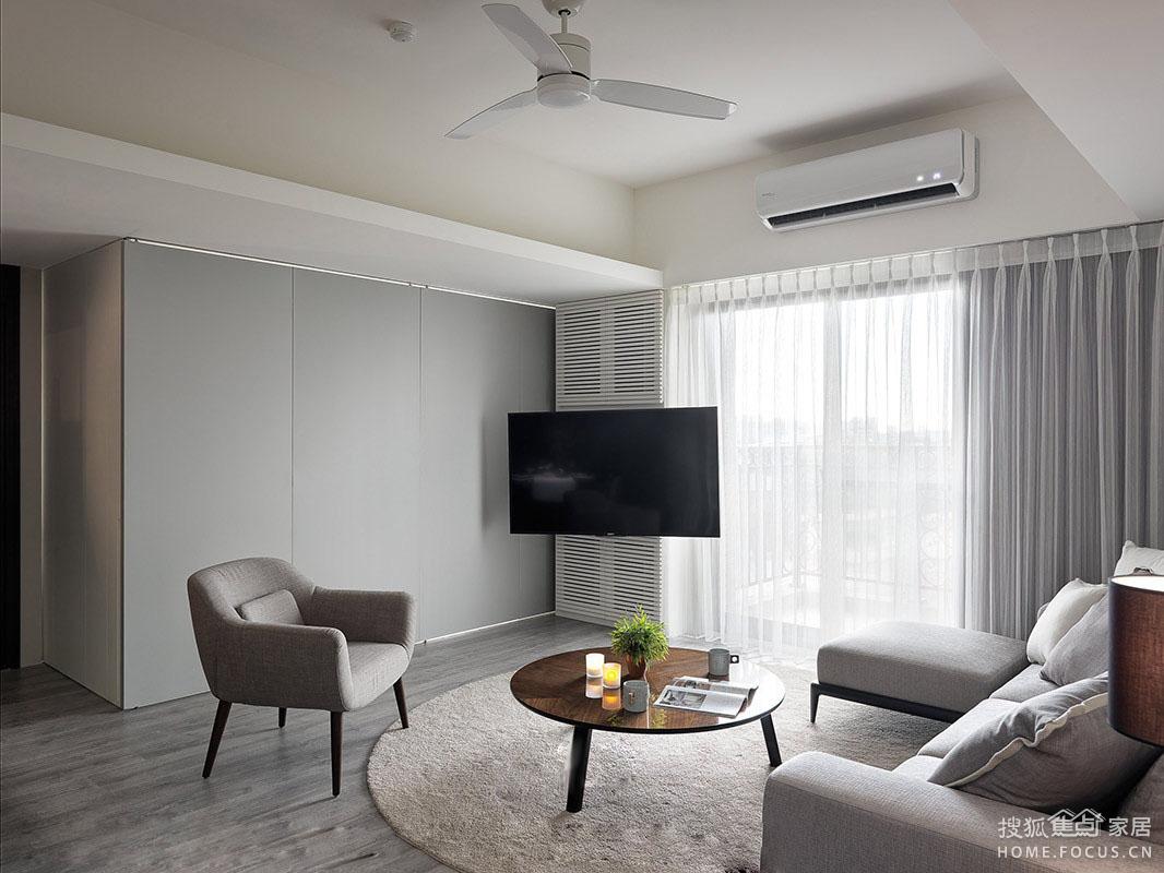 两室两厅现代宜家焦点_设计作品_搜狐水平家北京平面设计师风格图片