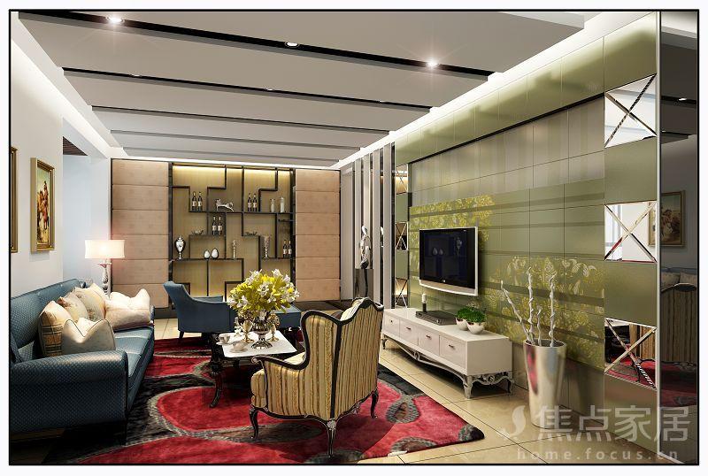芜湖现代前卫风格家装,只需要一款与众不同的背景墙